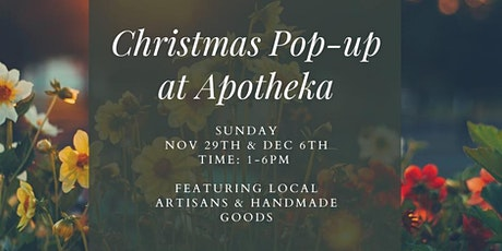 Christmas Market Pop-up at Apotheka tickets