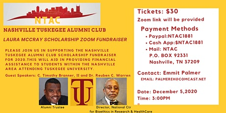 The Laura McCray Scholarship Fundraiser by Nashville Tuskegee Alumni Club tickets