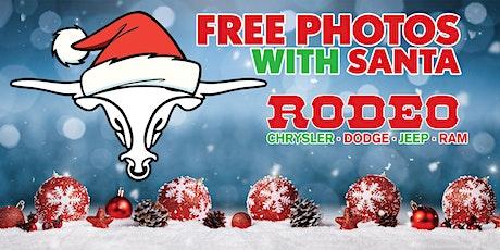 Free Photos with Santa at Rodeo CDJR! tickets