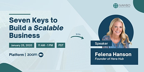 Seven Keys to Build a Scalable Business - NAWBO Oregon tickets