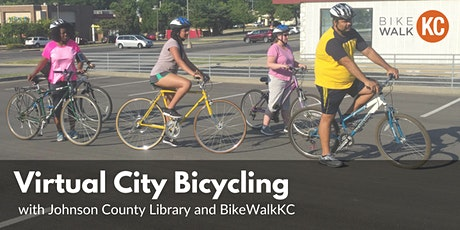 February Virtual City Bicycling: JoCo Library Edition tickets