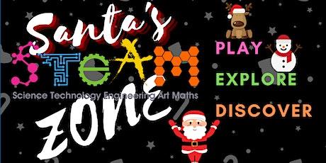 Santa's STEAM Zone - Casuarina Library tickets