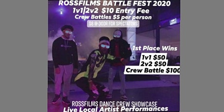 RossFilms Dance Battle Fest 2020 tickets