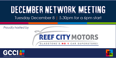 GCCI December Network Meeting tickets