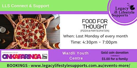 FOOD FOR THOUGHT - Pizza Night tickets