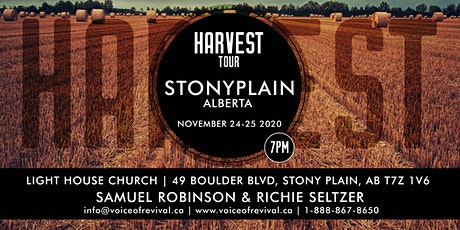 Harvest Tour - Stony Plain tickets