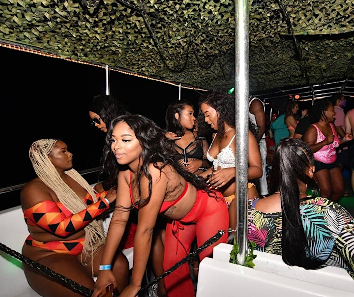 Miami Booze Cruise Party Boat+ Unlimited Drinks image