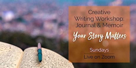 [Online] Creative Writing Workshop - Your Story Matters tickets