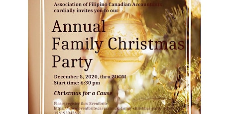 Annual Family Christmas Party tickets