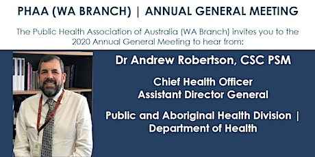 PHAA WA Branch 2020 AGM tickets