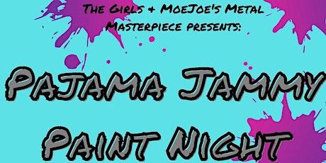 Pajama Jammy Paint Night tickets