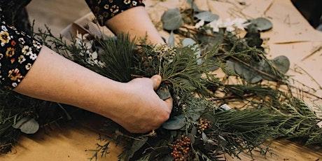 Lush Christmas Wreath Workshop tickets