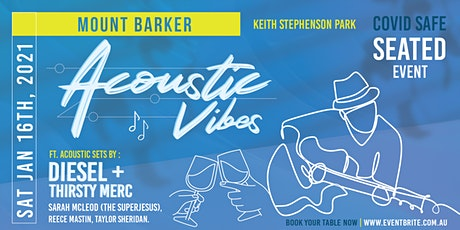 Acoustic Vibes Mount Barker tickets