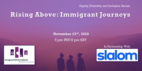 Rising Above: Immigrant Journeys tickets