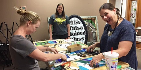 Beginner Stained Glass Class - 3 Day, January 8-10, 2021 tickets