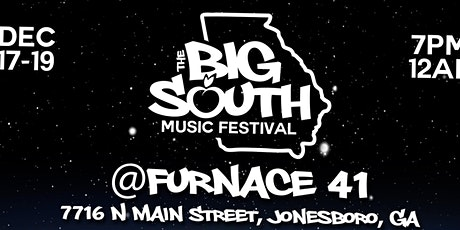 THE  BIG SOUTH MUSIC FESTIVAL tickets