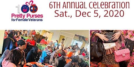 6th Annual - 100 Pretty Purses for Female Veterans tickets