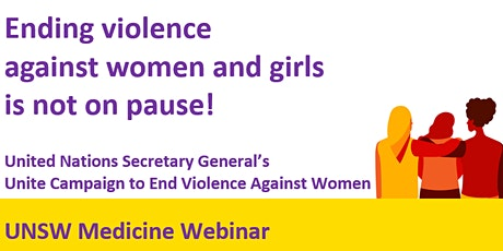 International Day for the Elimination of Violence Against Women tickets