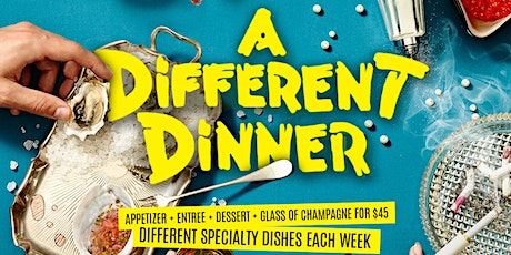 A Different Dinner | Fridays at Brooklyn on U tickets