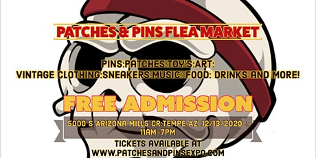 Patches & Pins Flea Market Phoenix tickets