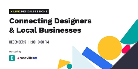 Live Design Sessions: Connecting Designers & Local Businesses tickets
