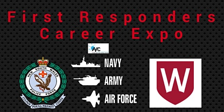 First Responders and Australian Defense Force Careers Expo tickets