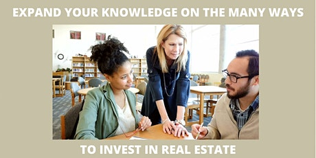 EXPAND YOUR KNOWLEDGE OF REAL ESTATE tickets
