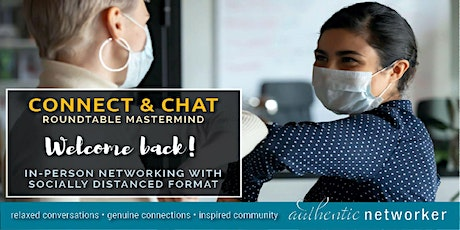 """Connect and Chat"" Rochester Business Networking Reimagined tickets"