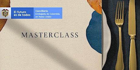 Colombian Cuisine Masterclass tickets