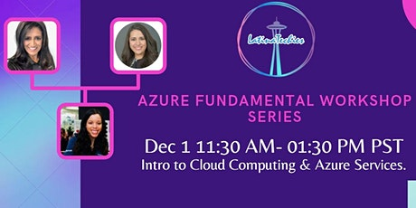 Lunch & Learn: Azure Fundamentals Certification tickets