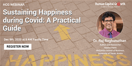 Sustaining Happiness During Covid: A Practical Guide tickets