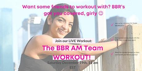 Saturday AM team workout tickets