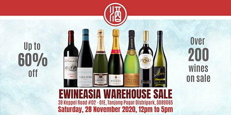 Ewineasia.com Warehouse Sales! tickets
