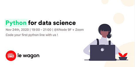Python for Data Science tickets