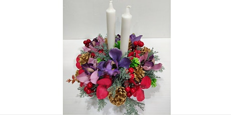Festive Flower Arrangement 2hr Workshop - Dec 12 tickets