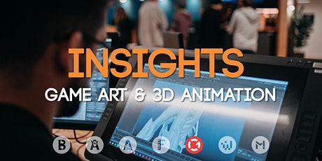 Study Insights: Game Art & 3D Animation Tickets