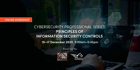 Principles of Information Security Controls (15 - 17 December 2020) tickets