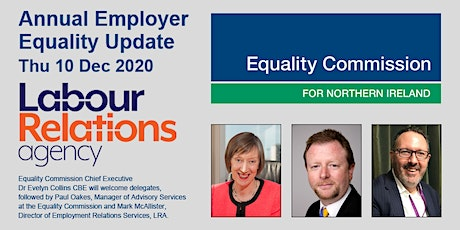 WEBINAR - ANNUAL EMPLOYER EQUALITY UPDATE tickets