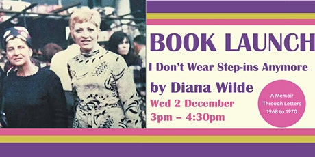 Book Launch - I Don't Wear Step-ins Anymore tickets