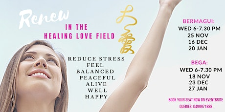 Love Field Healing Evening tickets