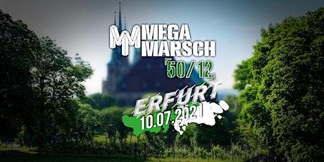 Megamarsch 50/12 Erfurt 2021 Tickets