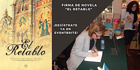 """Firma de novela histórica """"El retablo"""" en la Librería Gaztambide, Madrid entradas"""