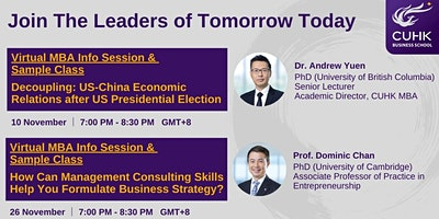 CUHK Sample Class: Management Consulting