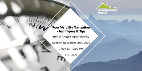 Poor Visibility Navigation - Techniques & Tips tickets