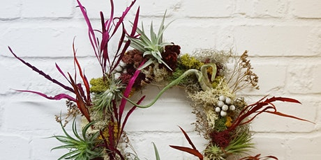 Everlasting Living Wreath - Workshop & Posted Kit - by Alice McCabe Flowers tickets
