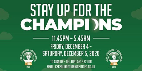 Stay Up for the Champions tickets