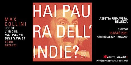 Max Collini Legge L'Indie biglietti