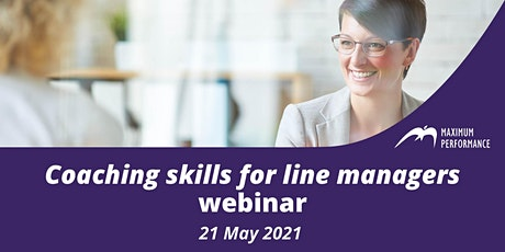 Coaching skills for line managers (21 May 2021) tickets