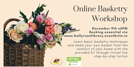 Online Basketry Workshop tickets