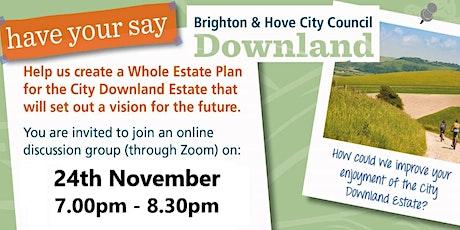 City Downland Estate Plan, (whole estate plan) Discussion Group 3 tickets